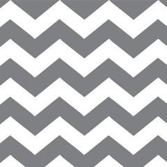 Fabric - White Chevron