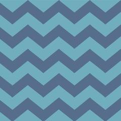Fabric - Blue Chevron