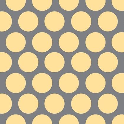 Fabric - Vintage Polka Dot Yellow