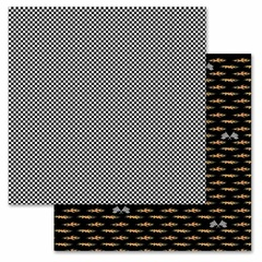 Checkered Flag 12x12
