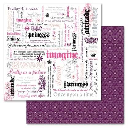 Princess Word 12x12