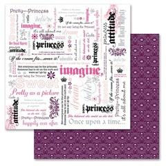 Princess Word 12x12