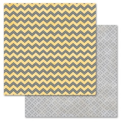 Gray Chevron 12x12
