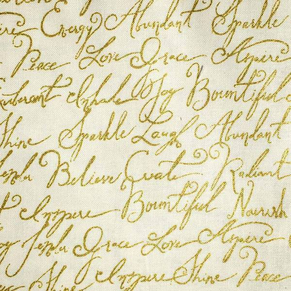 Gold Calligraphy