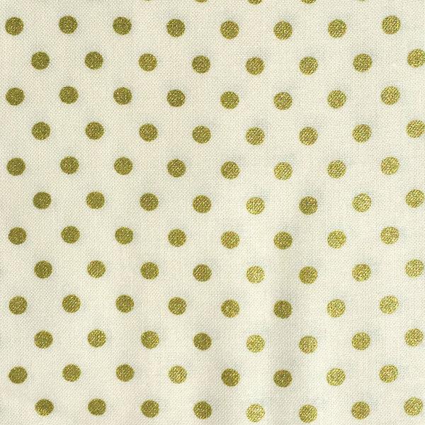 BeBop Dot Gold Fabric
