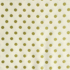 BeBop Dot Gold Fabric