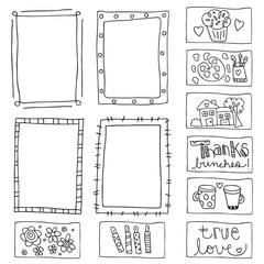 Cupcake Frames Paintable