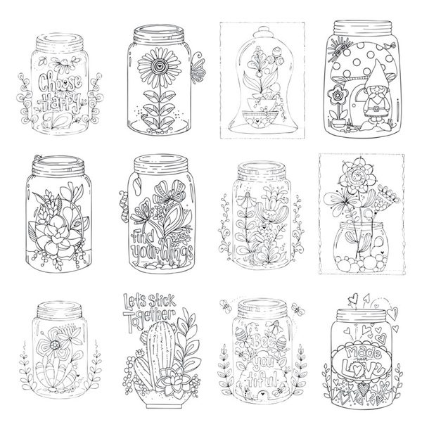 Jars Paintable