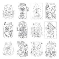 Jars Paintable