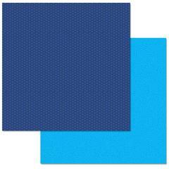Blue Swirls 12x12