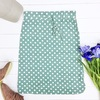 Whimsy polka skirt jade