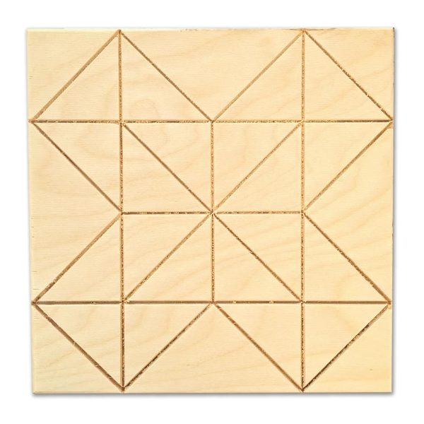 Star Puzzle Barn Quilt
