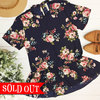 Painted floral peplum adornit so