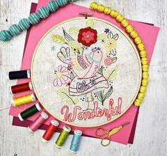 Flower Garden Stitchery MONTHLY