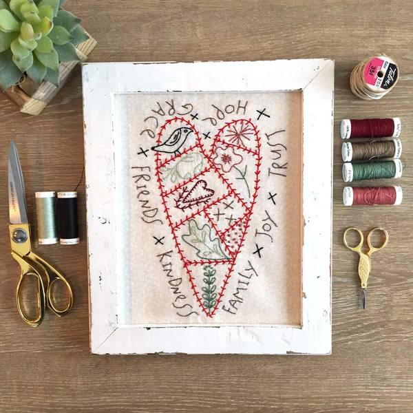 Just Folksy Stitchery MONTHLY