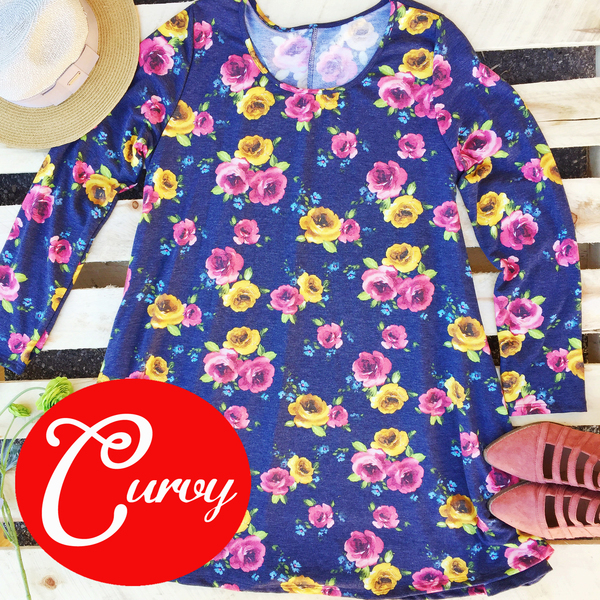 Floral Cluster Tunic