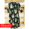 Funky floral swing dress so adornit