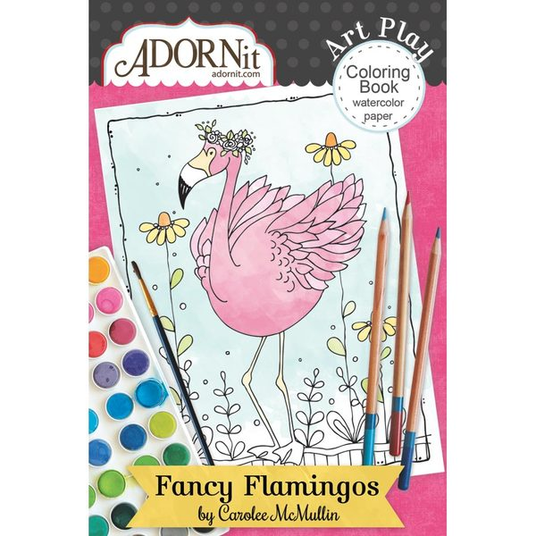 Flamingo Fever Mini Coloring Book