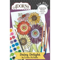 Daisy Delight Mini Coloring Book