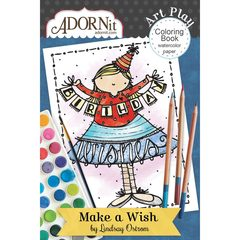 Make A Wish Mini Coloring Book