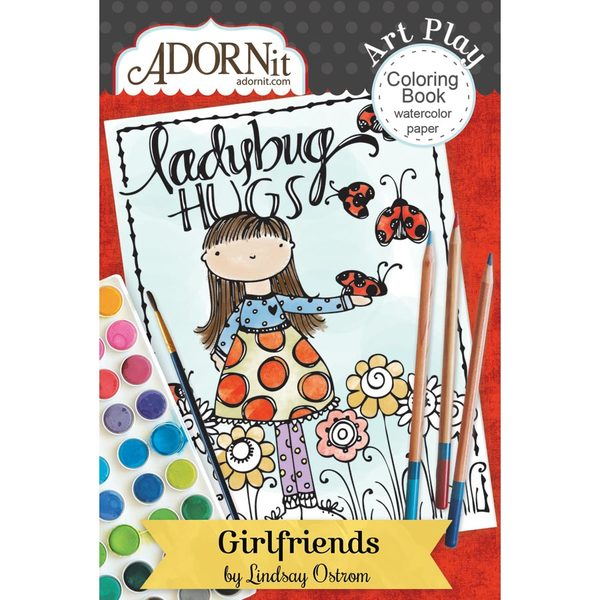 Girlfriends Mini Coloring Book