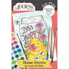 Home Grown Mini Coloring Book
