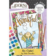 So Cute Mini Coloring Book