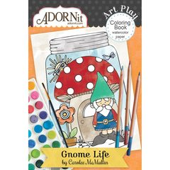 Gnome Life Mini Coloring Book