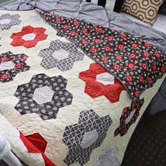 Hexagon Blossom Quilt Kit