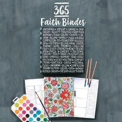 365 Faith Binder