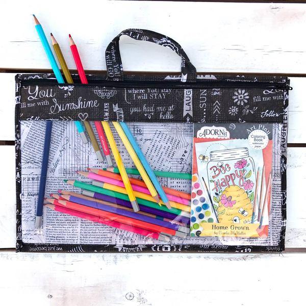 Coloring Storage Bag Chatter