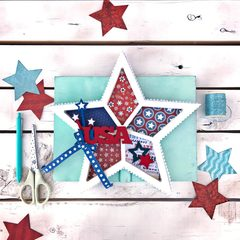 USA Star Shadowbox