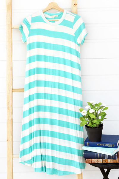 Tilli Tee Dress 01 - Sea Breeze