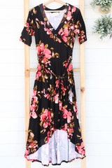 Sadi Wrap Dress