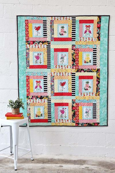 Let's Flamingle Quilt Kit