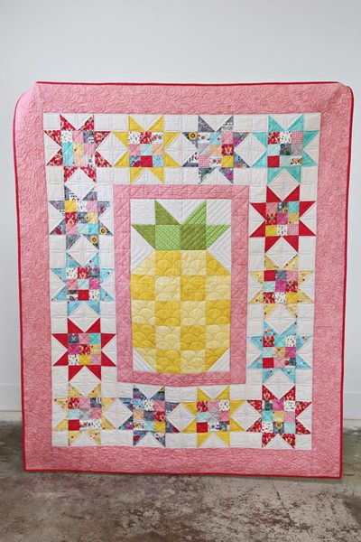 Pineapple Party Quilt Kit