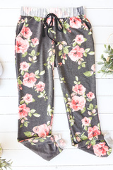 Floral Joggers- 01