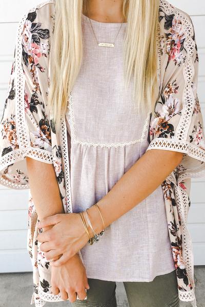 Harlow Floral Kimono