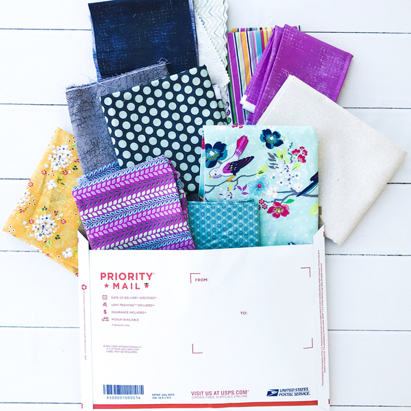 Fabric Stash Box