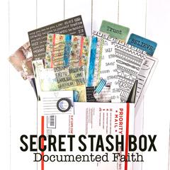 Documented Faith Stash Box