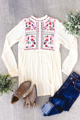 Alison Embroidered Tunic