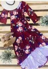 Juliet Hi-Lo Floral Dress