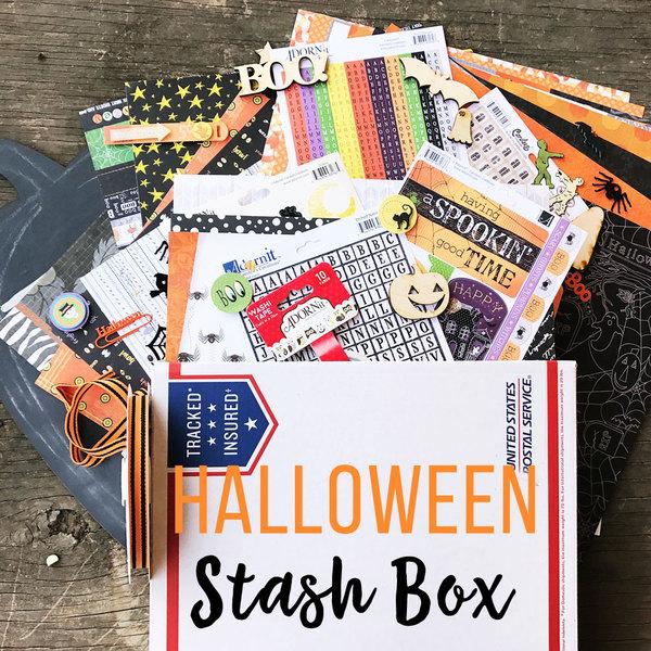 Halloween Stash Box