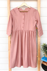 Sadie Linen Midi Dress