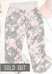 Floral Joggers - 02