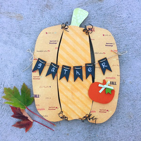 Pumpkin Door Hanger Kit