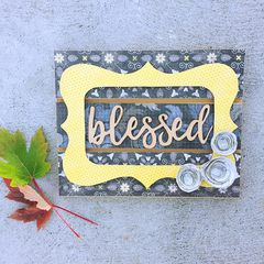 Blessed Wood Plaque Kit