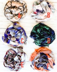 Cozy Blanket Scarves