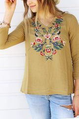 Jenna Embroiderd Blouse