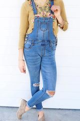 Oxford Denim Overalls